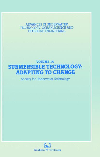 Cover of 'Submersible Technology: Adapting to Change'