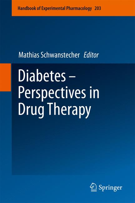 Cover of 'Diabetes - Perspectives in Drug Therapy'
