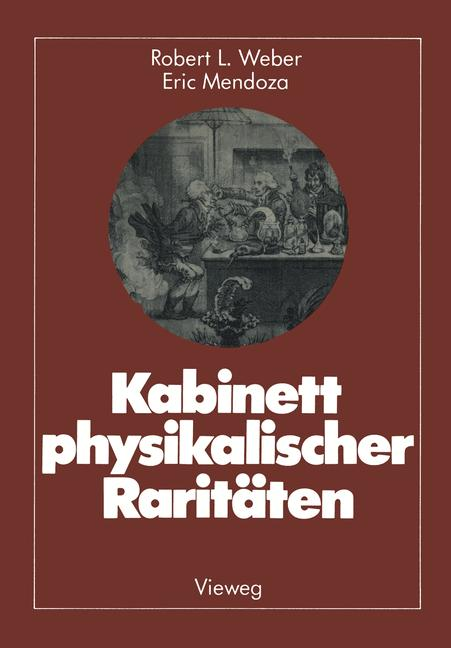 Cover of 'Kabinett physikalischer Raritäten'