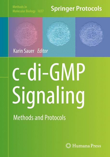 Cover of 'c-di-GMP Signaling'