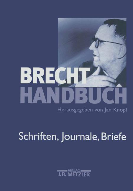 Cover of 'Brecht-Handbuch'