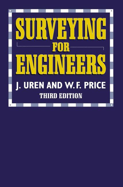 Cover of 'Surveying for Engineers'