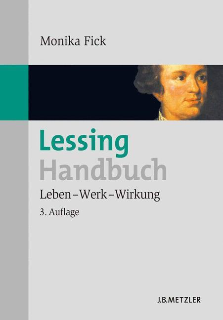 Cover of 'Lessing-Handbuch : Leben, Werk, Wirkung'