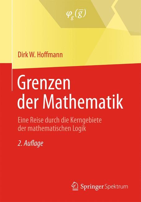Cover of 'Grenzen der Mathematik'