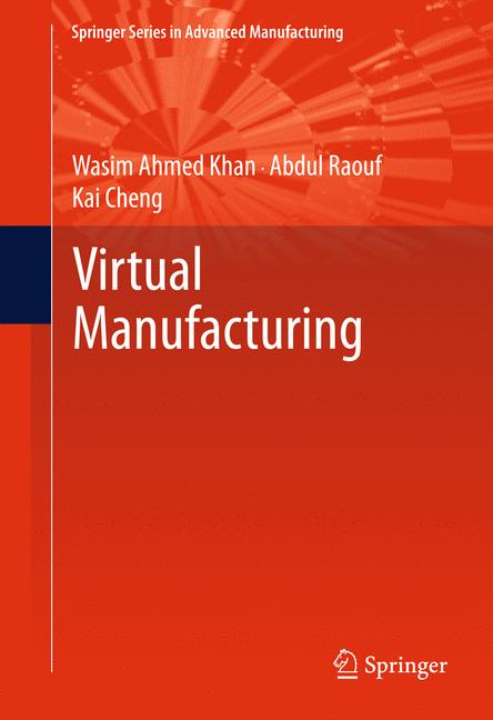 Cover of 'Virtual Manufacturing'
