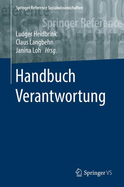 Cover of 'Handbuch Verantwortung'