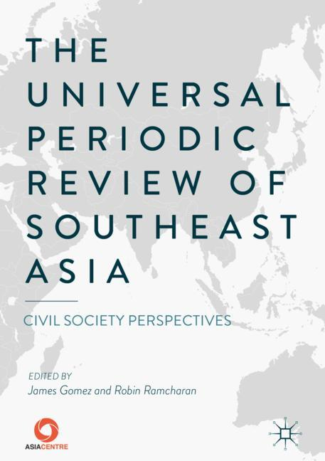 Cover of 'The Universal Periodic Review of Southeast Asia'