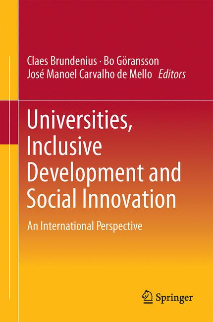 Cover of 'Universities, Inclusive Development and Social Innovation'