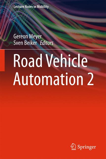 Cover of 'Road Vehicle Automation 2'