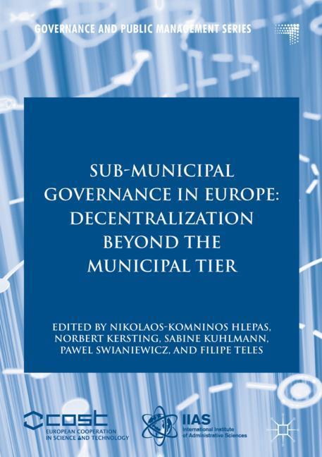 Cover of 'Sub-Municipal Governance in Europe'