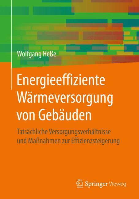 Cover of 'Energieeffiziente Wärmeversorgung von Gebäuden'