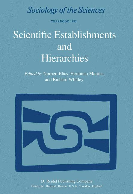 Cover of 'Scientific Establishments and Hierarchies'