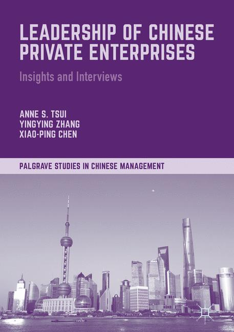 Cover of 'Leadership of Chinese Private Enterprises'
