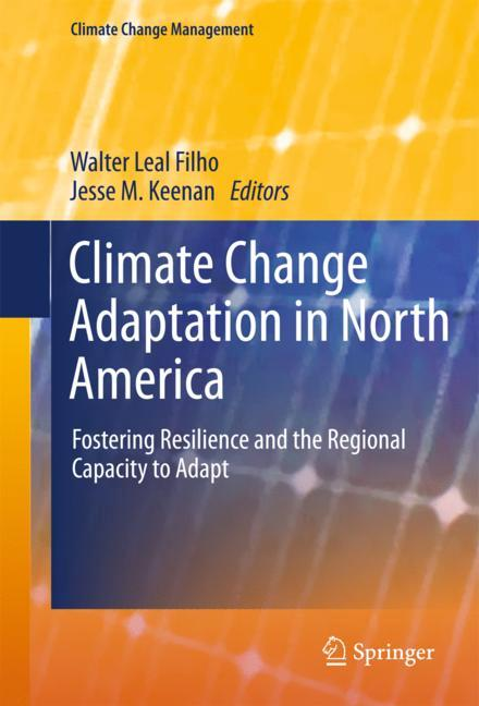 Cover of 'Climate Change Adaptation in North America'