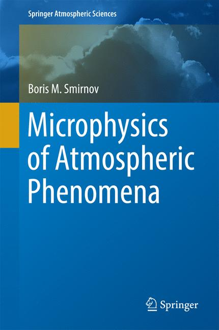 Cover of 'Microphysics of Atmospheric Phenomena'