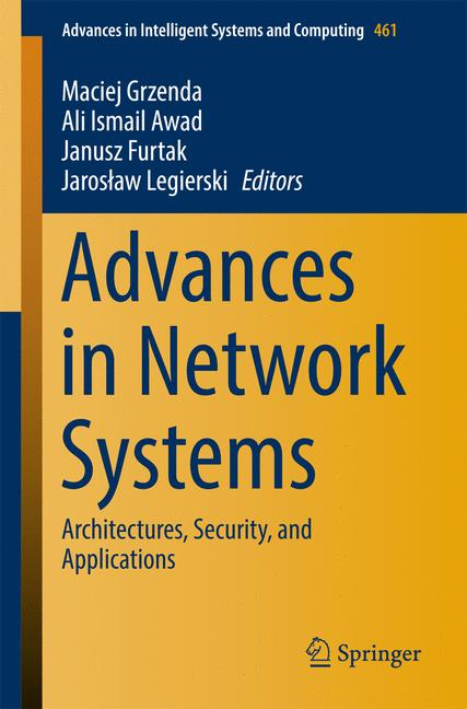 Cover of 'Advances in Network Systems'