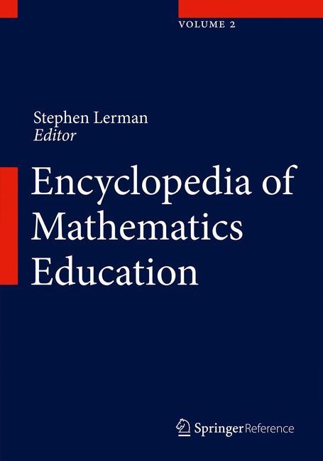 Cover of 'Encyclopedia of Mathematics Education'