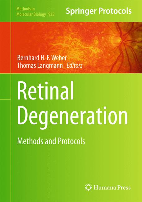 Cover of 'Retinal Degeneration'
