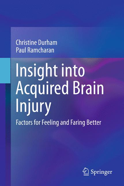 Cover of 'Insight into Acquired Brain Injury'