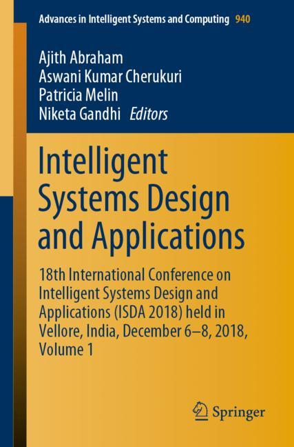 Cover of 'Intelligent Systems Design and Applications'