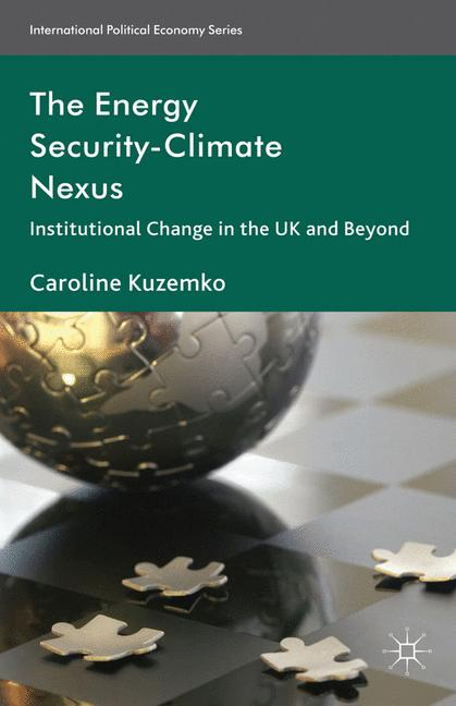 Cover of 'The Energy Security-Climate Nexus'
