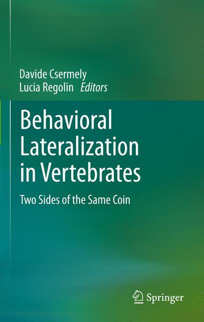Cover of 'Behavioral Lateralization in Vertebrates'