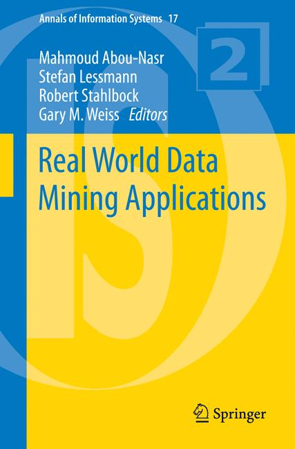 Cover of 'Real World Data Mining Applications'