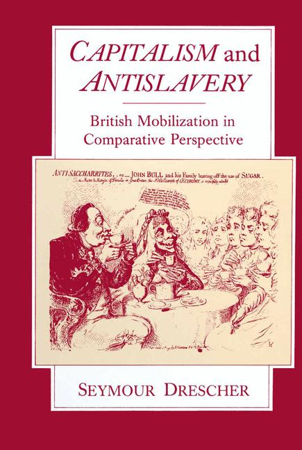 Cover of 'Capitalism and Antislavery'