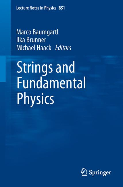 Cover of 'Strings and Fundamental Physics'