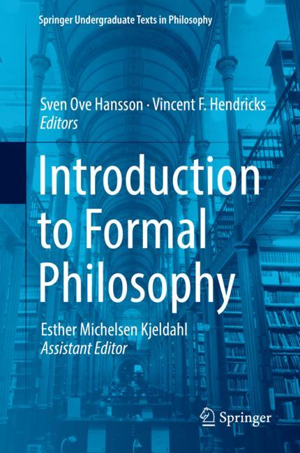 Cover of 'Introduction to Formal Philosophy'
