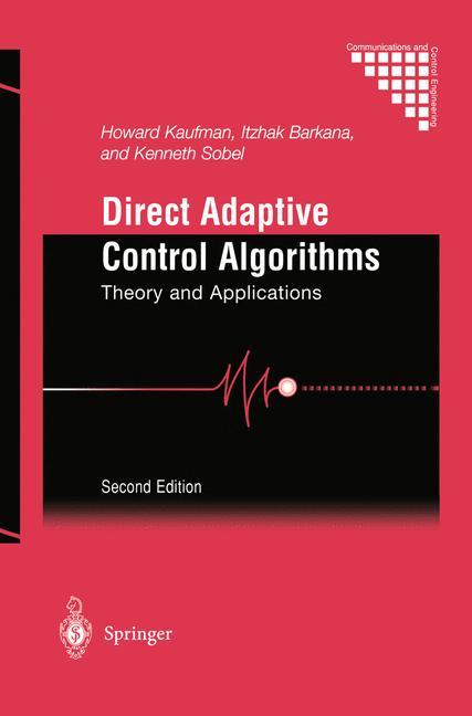 Cover of 'Direct Adaptive Control Algorithms'