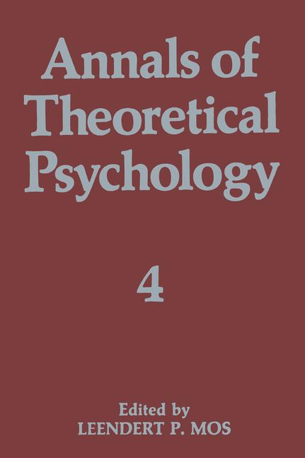 Cover of 'Annals of Theoretical Psychology'
