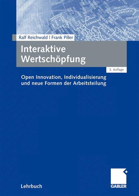 Cover of 'Interaktive Wertschöpfung'