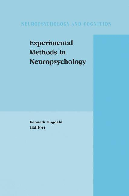 Cover of 'Experimental Methods in Neuropsychology'