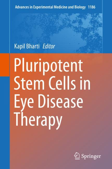 Cover of 'Pluripotent Stem Cells in Eye Disease Therapy'