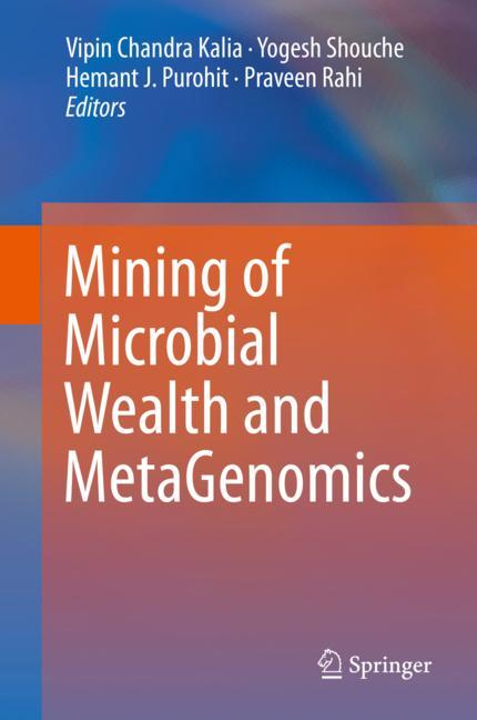 Cover of 'Mining of Microbial Wealth and MetaGenomics'