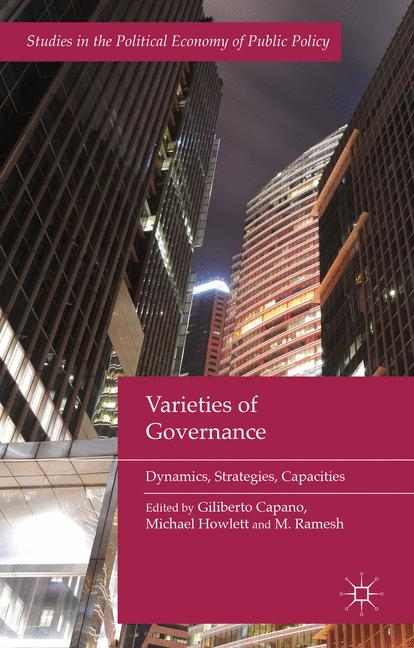 Cover of 'Varieties of Governance'
