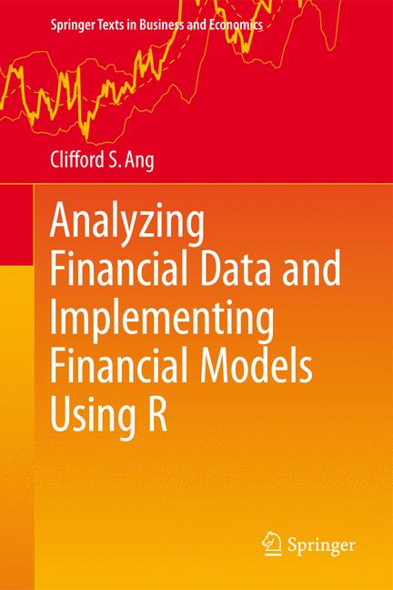 Cover of 'Analyzing Financial Data and Implementing Financial Models Using R'