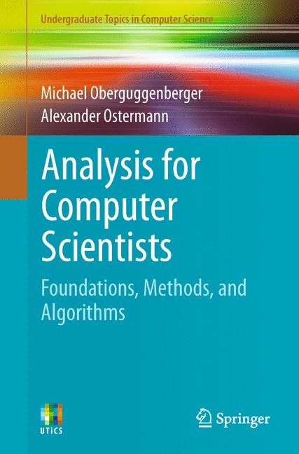 Cover of 'Analysis for Computer Scientists'
