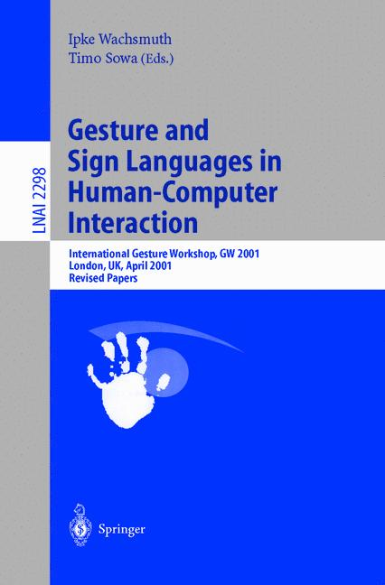 Cover of 'Gesture and Sign Language in Human-Computer Interaction'
