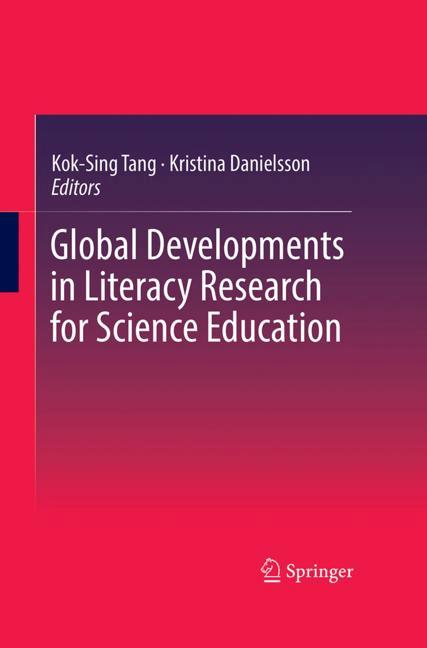 Cover of 'Global Developments in Literacy Research for Science Education'