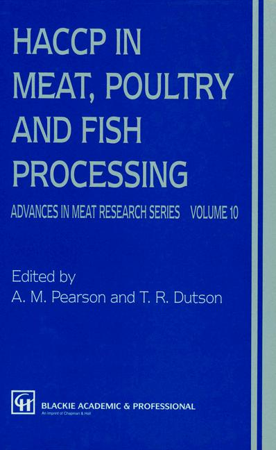 Cover of 'HACCP in Meat, Poultry, and Fish Processing'