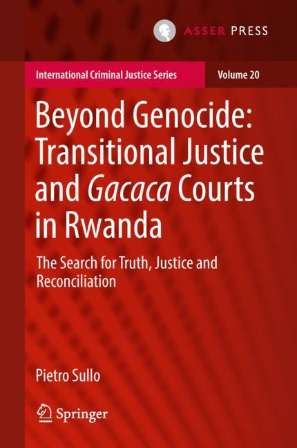 Cover of 'Beyond Genocide: Transitional Justice and Gacaca Courts in Rwanda'