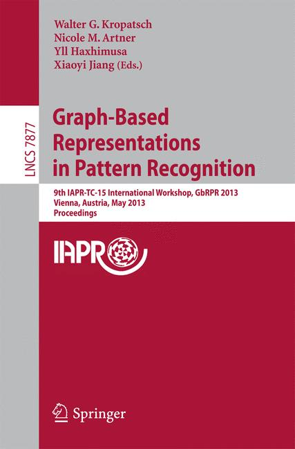 Cover of 'Graph-Based Representations in Pattern Recognition'
