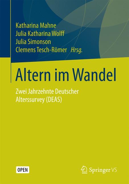 Cover of 'Altern im Wandel'