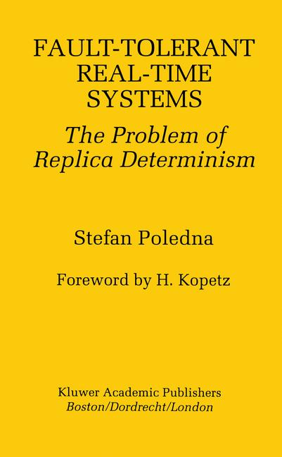 Cover of 'Fault-Tolerant Real-Time Systems'