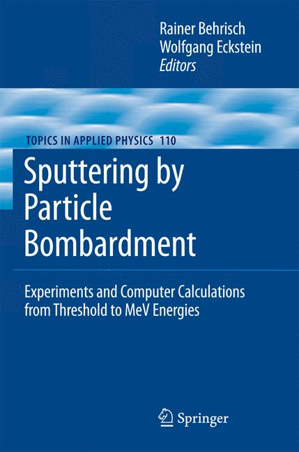 Cover of 'Sputtering by Particle Bombardment'