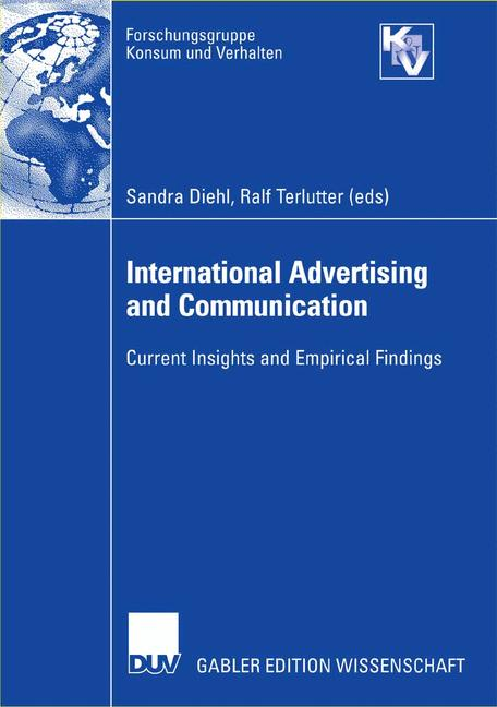 Cover of 'International Advertising and Communication'