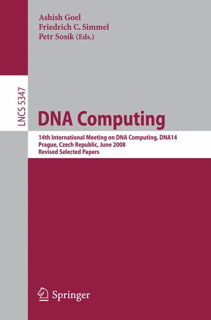 Cover of 'DNA Computing'