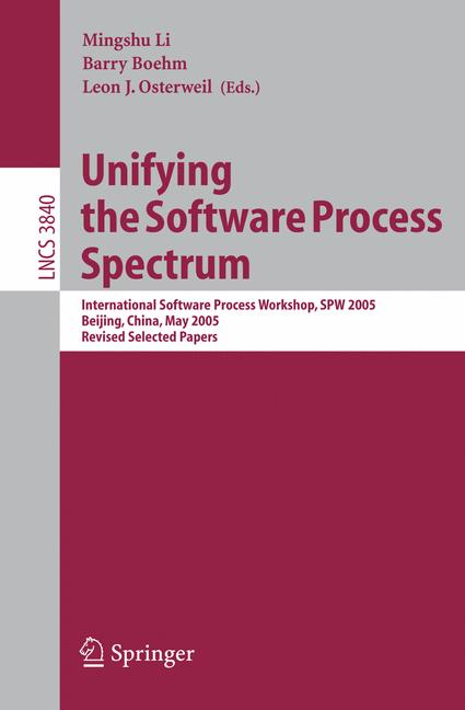 Cover of 'Unifying the Software Process Spectrum'